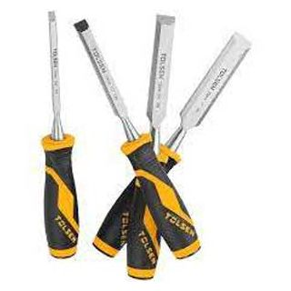4pc Wood Chisel Set with Gripro Handle | Tolsen Tool