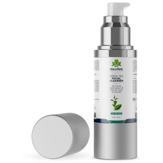 Facial Cleanser With Green Tea  and 350mg of CBD | 4oz Pump Bottle