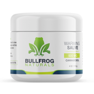 CBD Warming Salve - 500 mg of CBD.  Relax your body with this all-purpose powerful CDB healing salve that leaves your skin feeling smooth and restored. Infused with Organically Grown USA Hemp. Our proprietary True Full Spectrum CBD oil and rich w