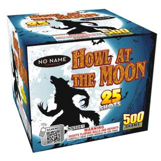 Howl at the Moon 25 Shot 500 Gram Multi Shot Aerial Firework by No Name Fireworks
